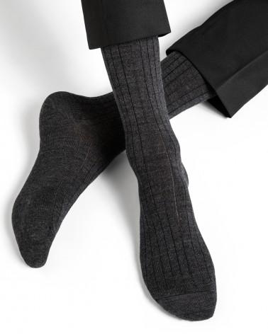 Calze di lana con interno di cotone