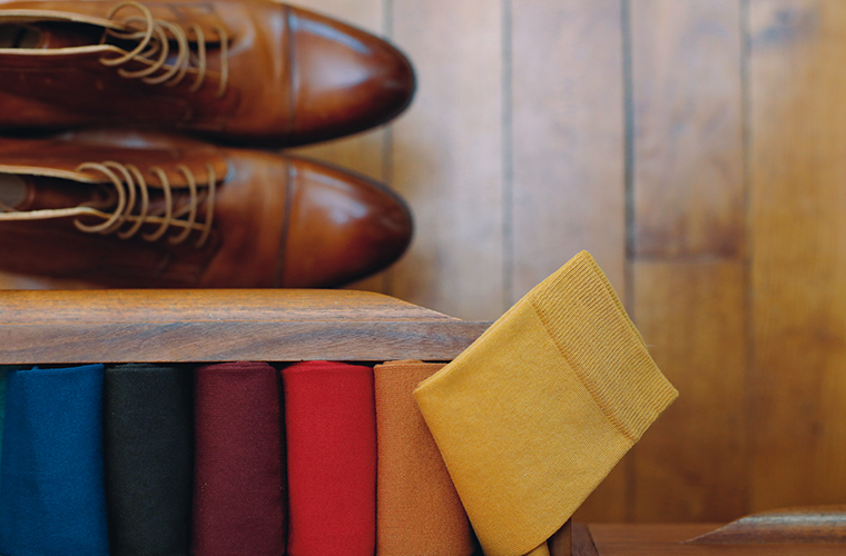 Chaussettes coton homme